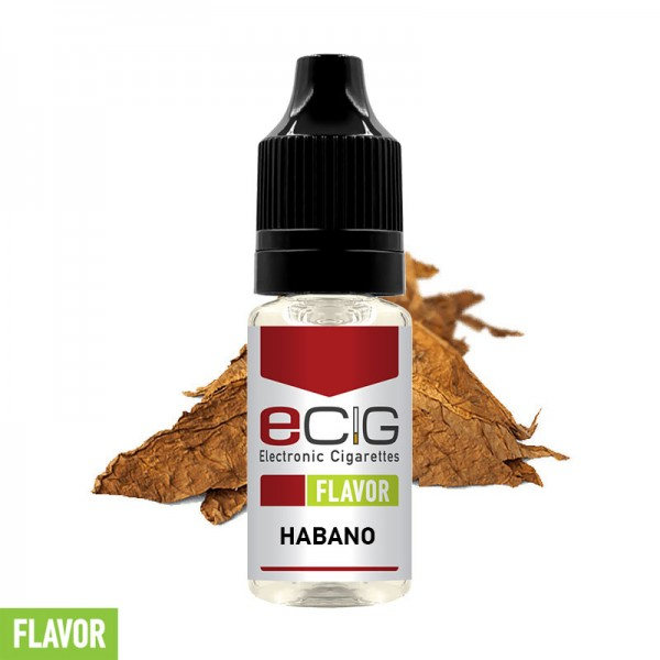 eCig Flavors - Habano Concentrate 10ml