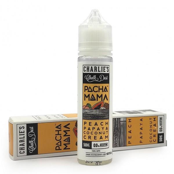 Charlies Chalk Dust - Pachamama Peach Papaya Coconut Cream 50ml Booster