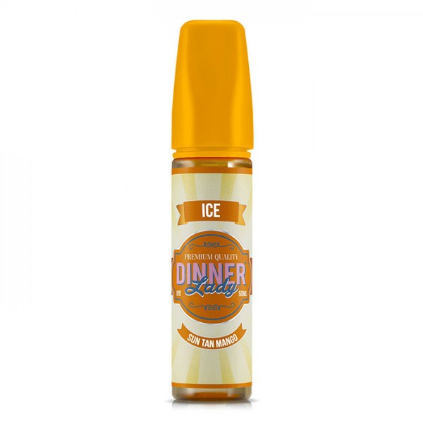 Dinner Lady Ice Sun Tan Mango 50ml Shortfill