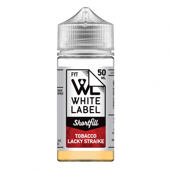 eCig Free Your Taste - Tobacco Lacky Straike 50ml - FYT