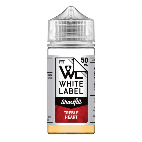 eCig Free Your Taste - Treble Heart 50ml - FYT