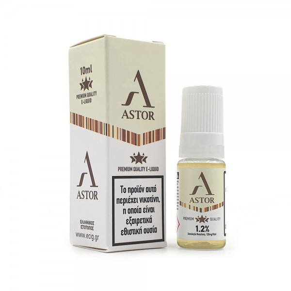 eCig White Label - Tobacco - Astor