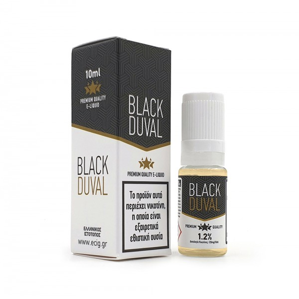 eCig White Label - Tobacco - Black Duval