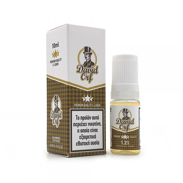 eCig White Label - Tobacco - David Orf