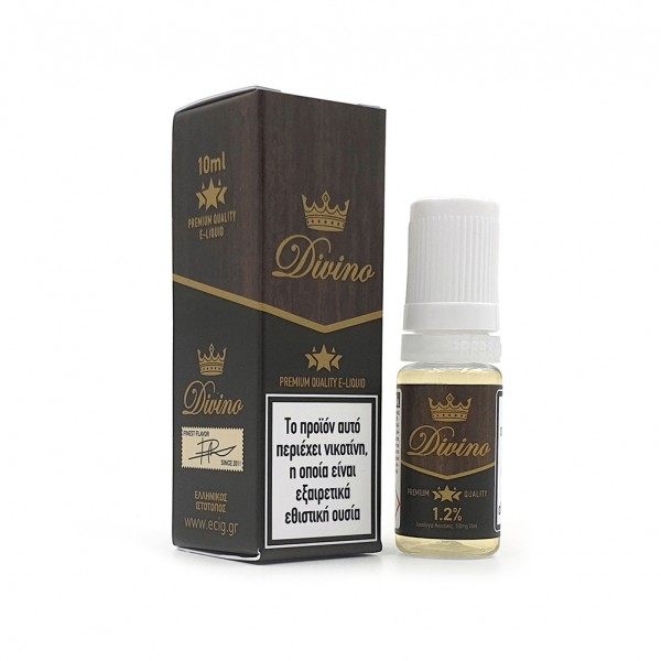 eCig White Label - Tobacco - Divino Cigar