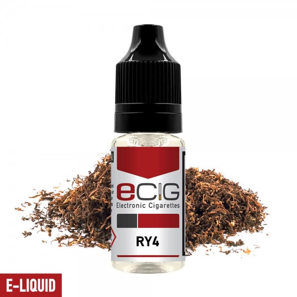 eCig White Label - Tobacco - RY4