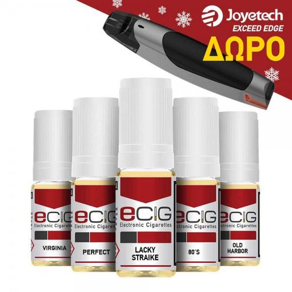 e-Liquids 5x10ml - PACK A'