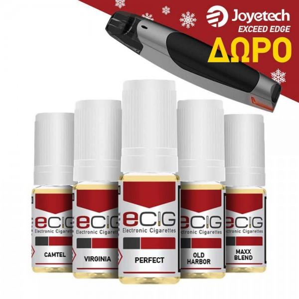 e-Liquids 5x10ml - PACK B'
