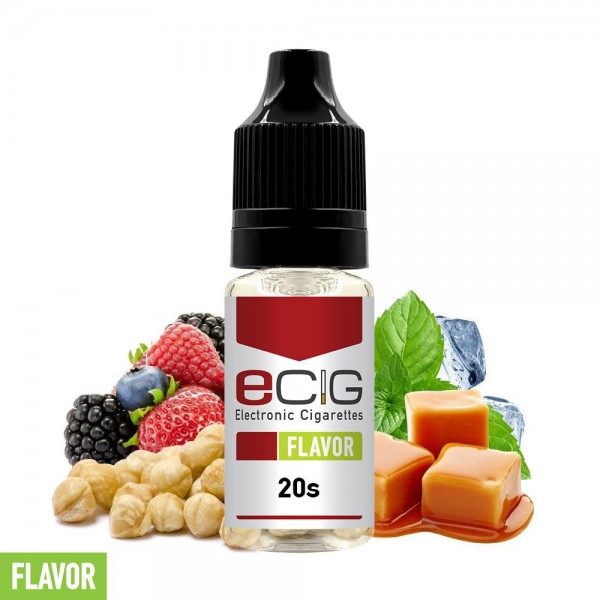 eCig Flavors - 20s Concentrate  10ml