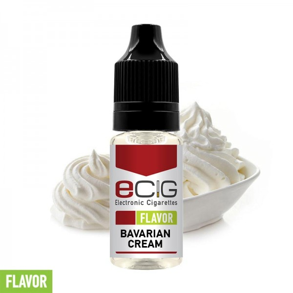 eCig Flavors - Bavarian Cream Concentrate 10ml