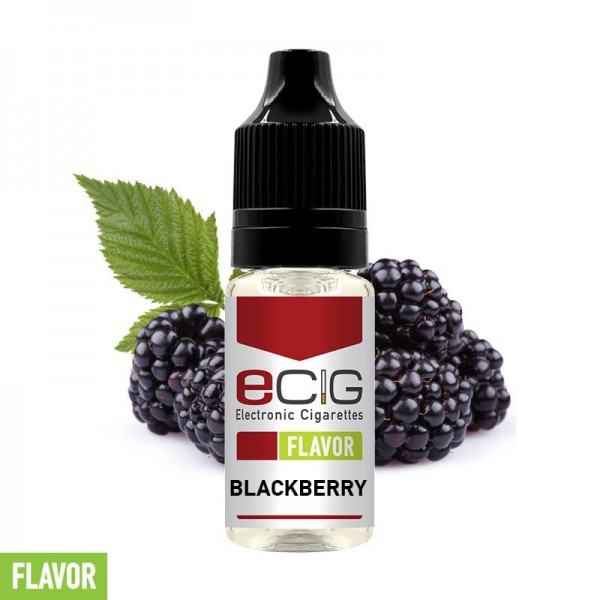 eCig Flavors - Blackberry Concentrate 10ml