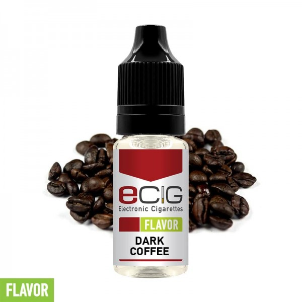 eCig Flavors - Coffee Dark Concentrate 10ml