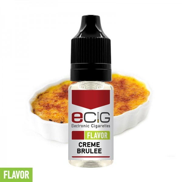 eCig Flavors - Creme Brulee Concentrate 10ml