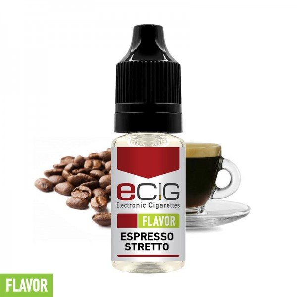 eCig Flavors - Espresso Stretto Coffee Concentrate 10ml