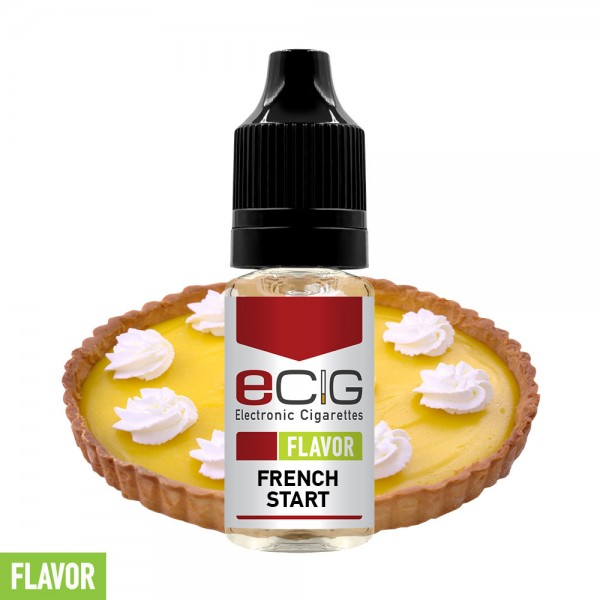 eCig Flavors - French Start Concentrate 10ml