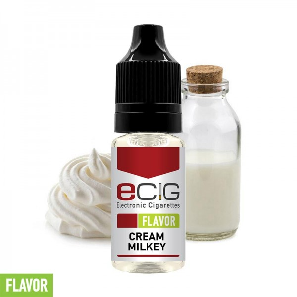 eCig Flavors - Milky cream Concentrate 10ml