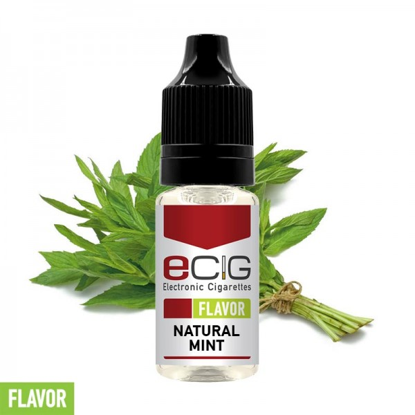 eCig Flavors - Natural Mint Concentrate 10ml