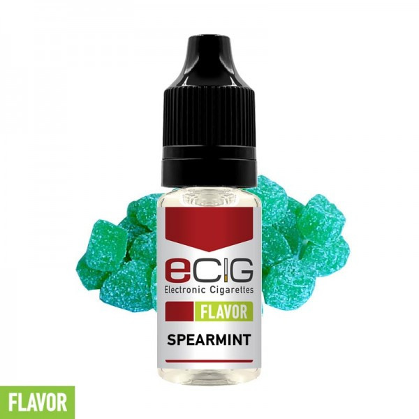 eCig Flavors - Spearmint Concentrate 10ml