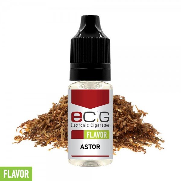 eCig Flavors - Tobacco Astor Concentrate 10ml