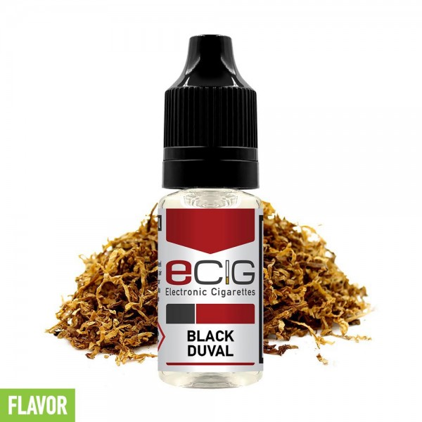 eCig Flavors - Tobacco Black Duval Concentrate 10ml