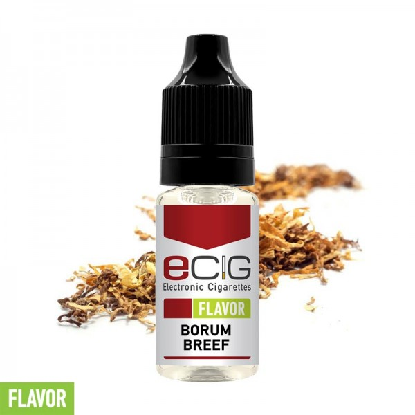 eCig Flavors - Tobacco Borum Breef Concentrate 10ml
