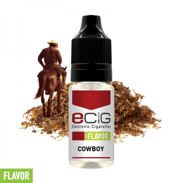 eCig Flavors - Tobacco Cowboy Concentrate 10ml