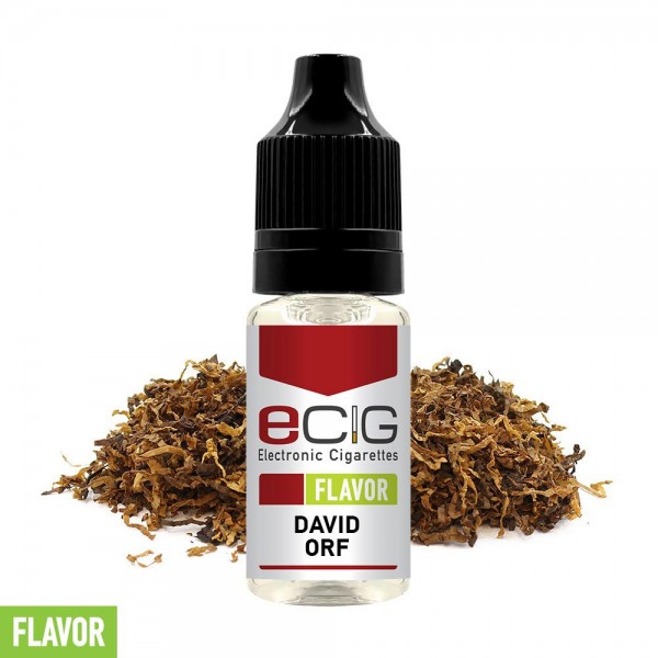 eCig Flavors - Tobacco David Orf Concentrate 10ml