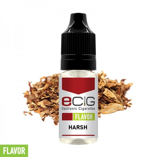 eCig Flavors - Tobacco Harsh Concentrate 10ml