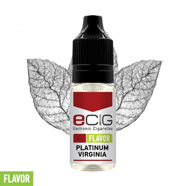eCig Flavors - Tobacco Platinum Virginia Concentrate 10ml