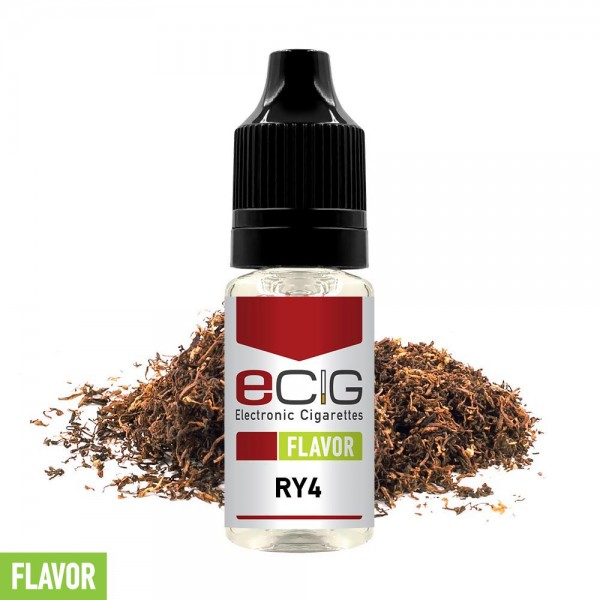 eCig Flavors - Tobacco RY4 Concentrate 10ml