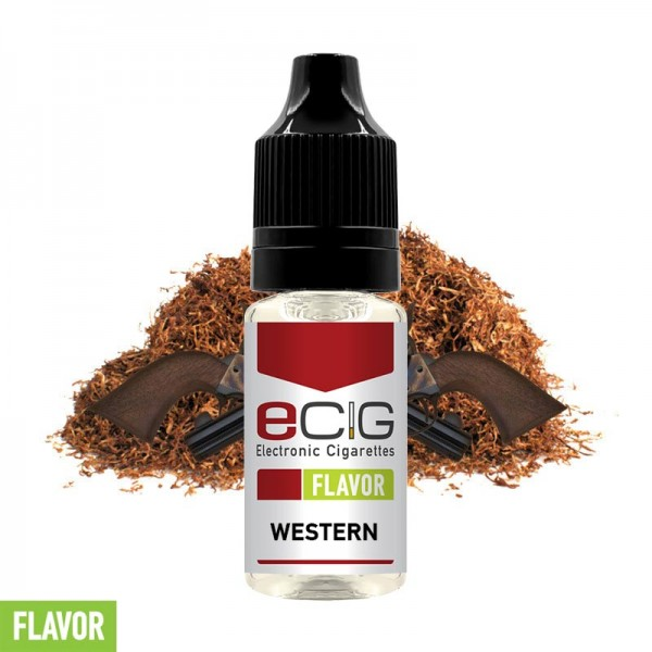 eCig Flavors - Tobacco Western Concentrate 10ml