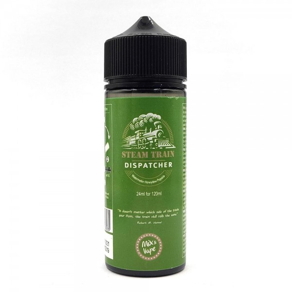 Steam Train Shake & Vape - Steam Train - Dispatcher Flavor Shot 24/120ml
