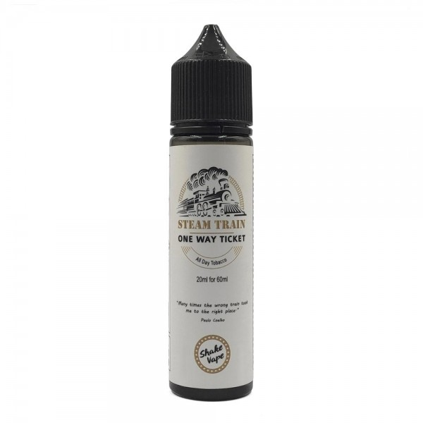 Steam Train Shake & Vape - Steam Train - One Way Ticket Flavor Shot 20/60ml
