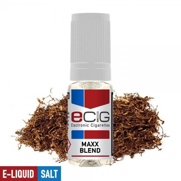 eCig White Label Nicsalts - Tobacco - Maxx-Blend / Nicsalts 20mg / 10ml