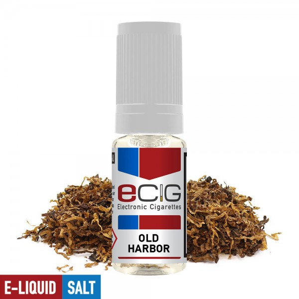eCig White Label Nicsalts - Tobacco - Old Harbor / Nicsalts 20mg / 10ml