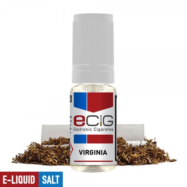 eCig White Label Nicsalts - Tobacco - Virginia / Nicsalts 20mg / 10ml