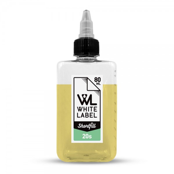 20's - White Label Shortfill 80/100 ml