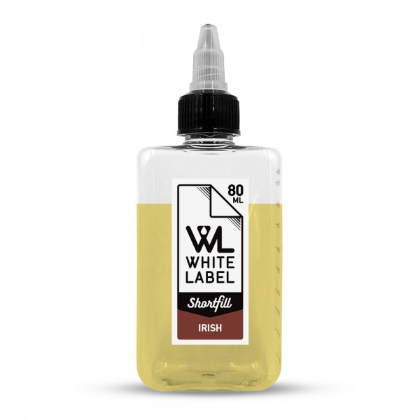 Irish - White Label Shortfill 80/100 ml