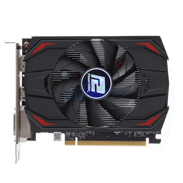 Bulk Products - Graphics Card - PowerColor Radeon RX 550 4GB Red Dragon