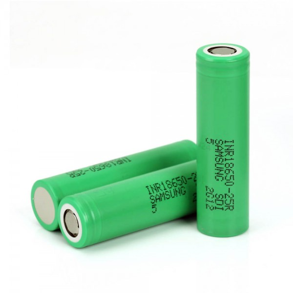 Batteries For Mods - Samsung Battery 2500mah INR18650 25R