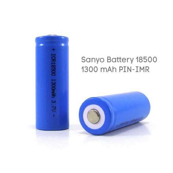 Batteries For Mods - Sanyo Battery 18500