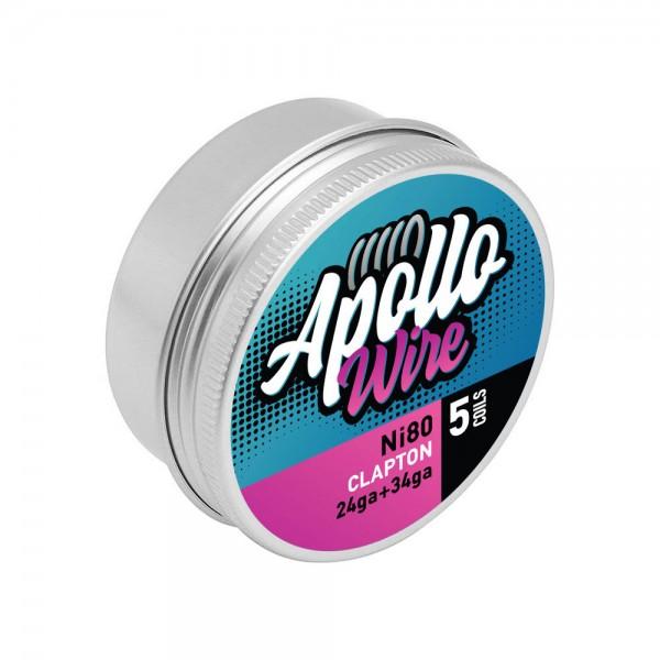 Apollo Ni80 Clapton 24ga+34ga / 0.48ohm ...
