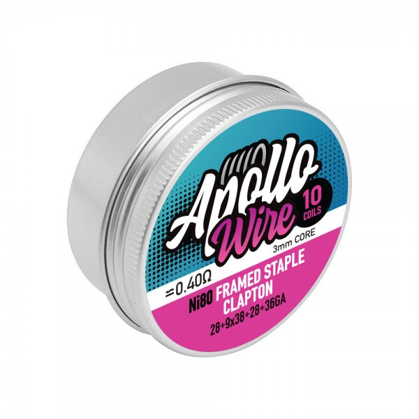 Apollo Ni80 Frame Staple Clapton 28+9x38...