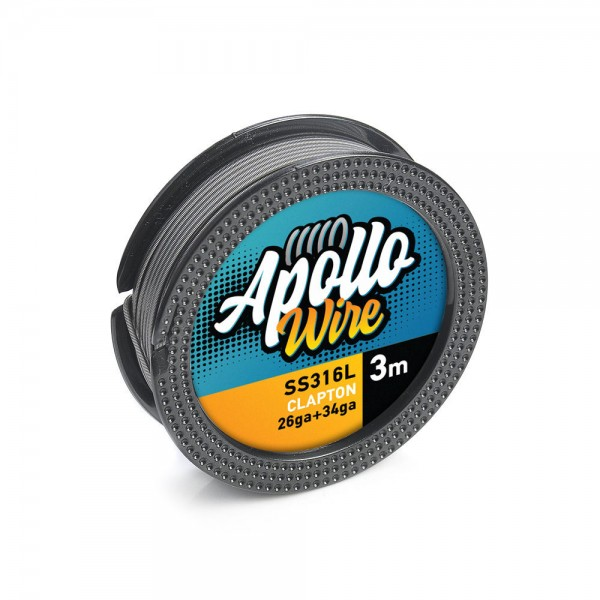Apollo SS 316L Clapton Wire 26ga+34ga / ...