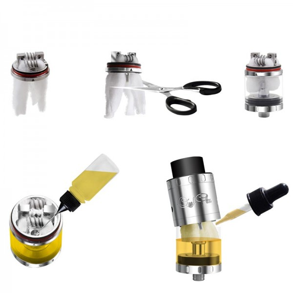 RDTA - Aspire Quad Flex Survival Kit
