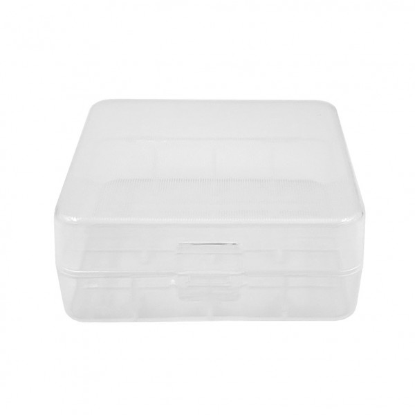 Transparent Plastic Case 2x26650