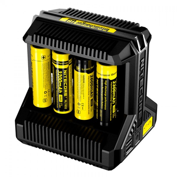Chargers - Nitecore i8 Charger