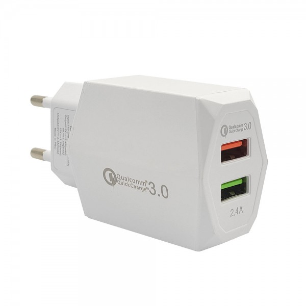 PowerOn CH-85 Dual USB Quick charger 3.0