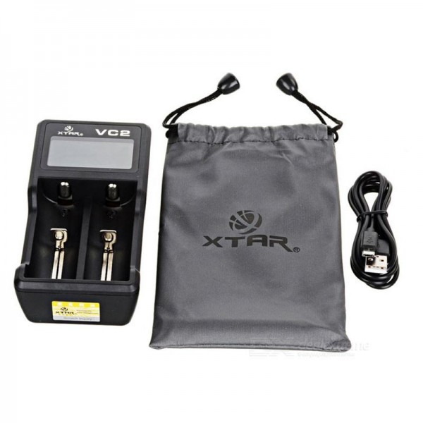 Parts and Accessories - Xtar VC2 Charger