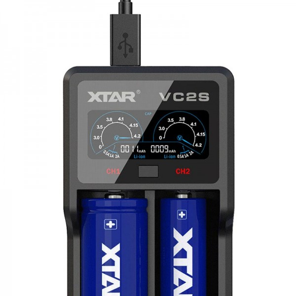 - Xtar VC2S Charger